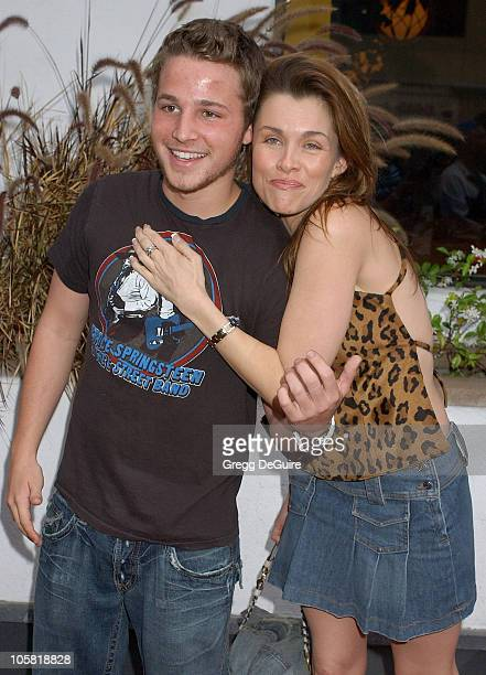 """Shawn Pyfrom and Alicia Arden during """"Surf School"""" Los Angeles Premiere - May 16, 2006 in Los Angeles, California, United States."""