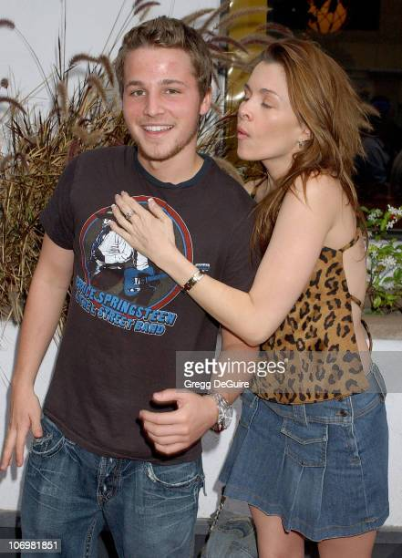 Shawn Pyfrom and Alicia Arden during Surf School Los Angeles Premiere May 16 2006 in Los Angeles California United States