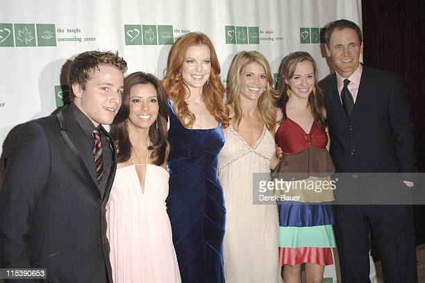 Shawn Pyfrom Eva Longoria Marcia Cross Lori Loughlin Andrea Bowen and Mark Moses