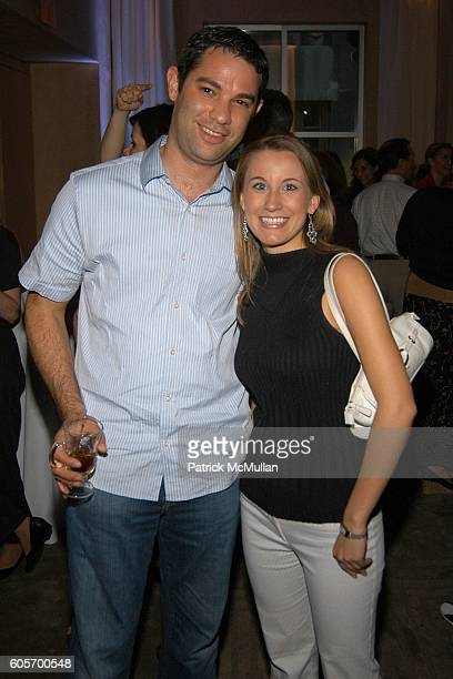 Shawn Sachs and Amanda LaPolla attend DIET PEPSI 'JAZZ' Cocktail Party at W New York on July 11 2006 in New York City
