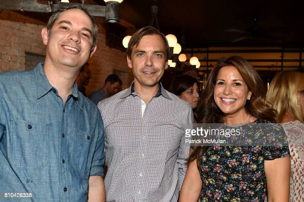 Shawn Sachs Ian Woods and Gigi Stone attend eBay Hosts July 4th Benefit for Sag Harbor Cinema Restoration Project at Lulu Kitchen and Bar on July 3...