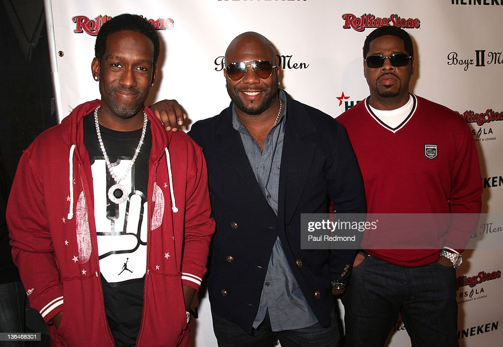 Boyz II Men Hollywood Walk Of Fame Celebration Party