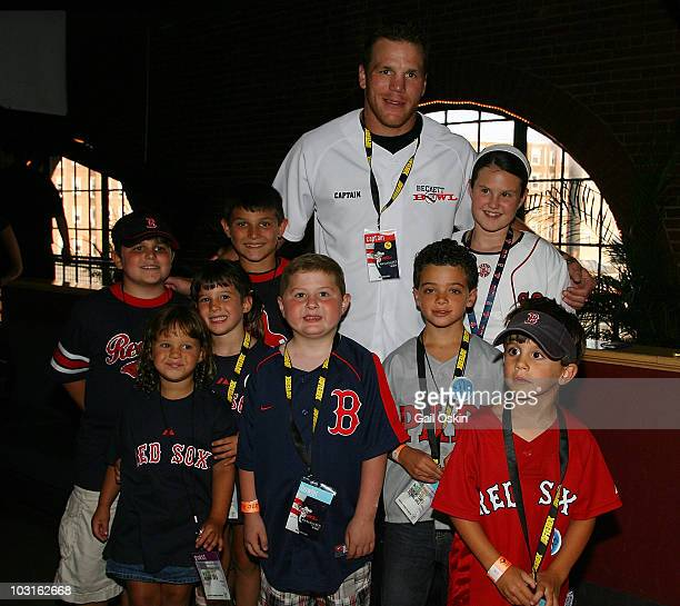 Shawn Thornton attends the Beckett Bowl at Children's Hospital Boston on July 29 2010 in Boston Massachusetts
