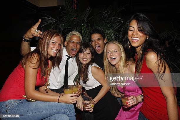 Shawn Ward Shane Ward and guests attend Vaughn Anthony's Birthday Bash Hosted by John Legend on May 22 2008 in New York City