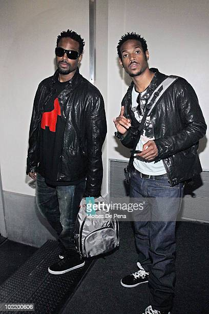 Shawn Wayans and Marlon Wayans attend Pampers' Daddy Play Date Fathers Day celebration at the Metropolitan Pavilion on June 17 2010 in New York City