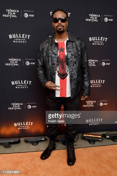 Shawn Wayans at the 25th Anniversary of In Living Color After Party at the Bulleit 3D Printed Frontier Lounge at the Tribeca Film Festival on April...