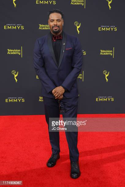 Shawn Wayans attends the 2019 Creative Arts Emmy Awards on September 15 2019 in Los Angeles California