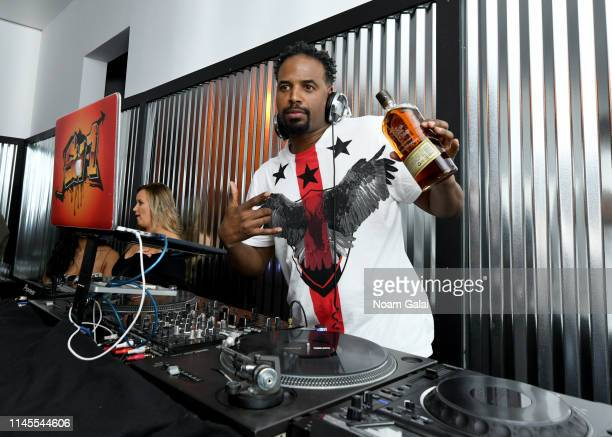 Shawn Wayans DJs at the 25th Anniversary of In Living Color After Party at the Bulleit 3D Printed Frontier Lounge at the Tribeca Film Festival on...
