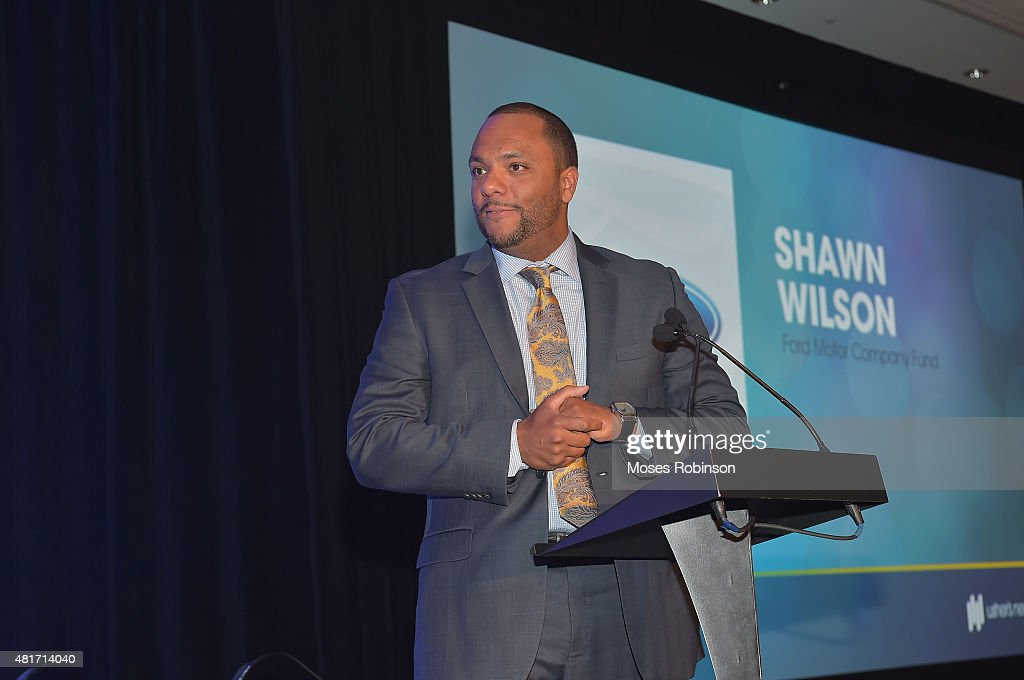 Shawn Wilson attend Ushers New Look United to Ignite Awards Presidents Circle Luncheon on July 23, 2015 in Atlanta, Georgia.