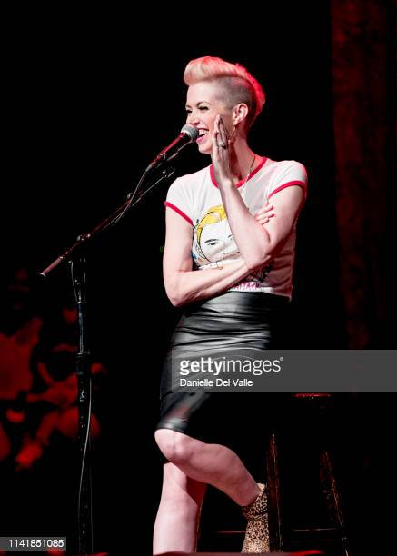 Shawna Thompson of musical duo Thompson Square performs at Franklin Theatre on May 6 2019 in Franklin Tennessee