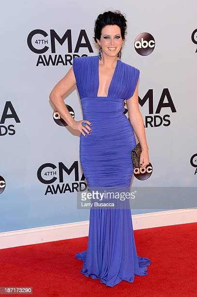 Shawna Thompson of Thompson Square attends the 47th annual CMA Awards at the Bridgestone Arena on November 6 2013 in Nashville Tennessee