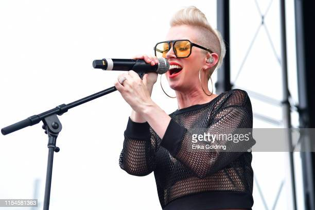 Shawna Thompson of Thompson Square during 2019 CMA Music Festival on June 07 2019 in Nashville Tennessee