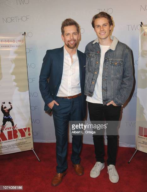 ShawnCaulin Young and Logan Troyer arrive for the premiere of 'Heart Baby' held at The Ahrya Fine Arts Laemmle Theater on November 23 2018 in Beverly...