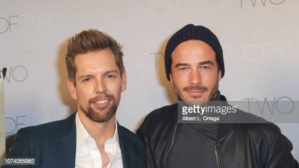 ShawnCaulin Young and Ryan Carnes arrive for the premiere of 'Heart Baby' held at The Ahrya Fine Arts Laemmle Theater on November 23 2018 in Beverly...