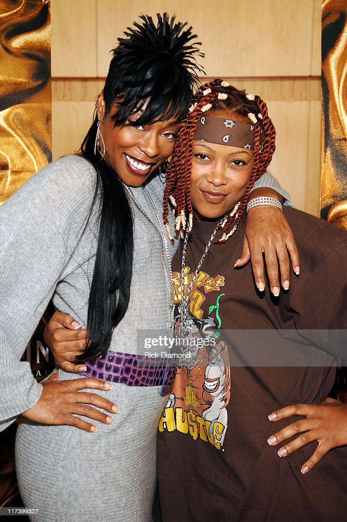 Shawnna and DaBrat during Radio One Presents 2nd Annual Dirty Awards - Red Carpet Arrivals at Georgia International Convention Center in Atlanta, Georgia, United States.