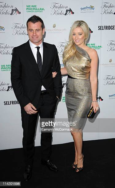 Shay Given and wife attend Fashion Kicks at Lancashire County Cricket Club on May 15, 2011 in Manchester, England.