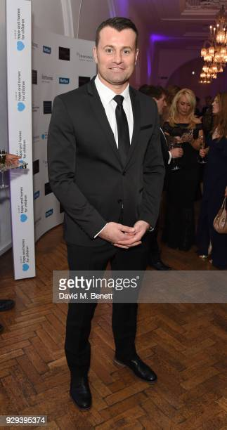 Shay Given attends the Hope and Homes for Children 'Once Upon A Time Ball' at One Marylebone on March 8 2018 in London England