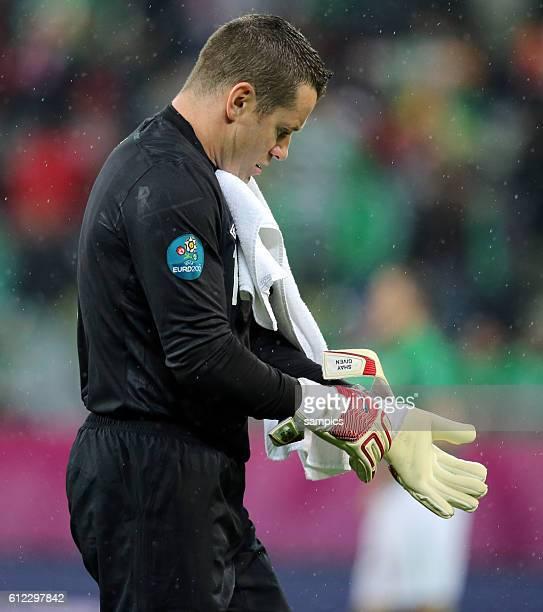 Shay Given Fussball EM 2012 Gruppe C : Spanien - Irland UEFA EURO 2012 group C : Spain - Republic of Ireland 14.6.2012 PGE Arena Danzig