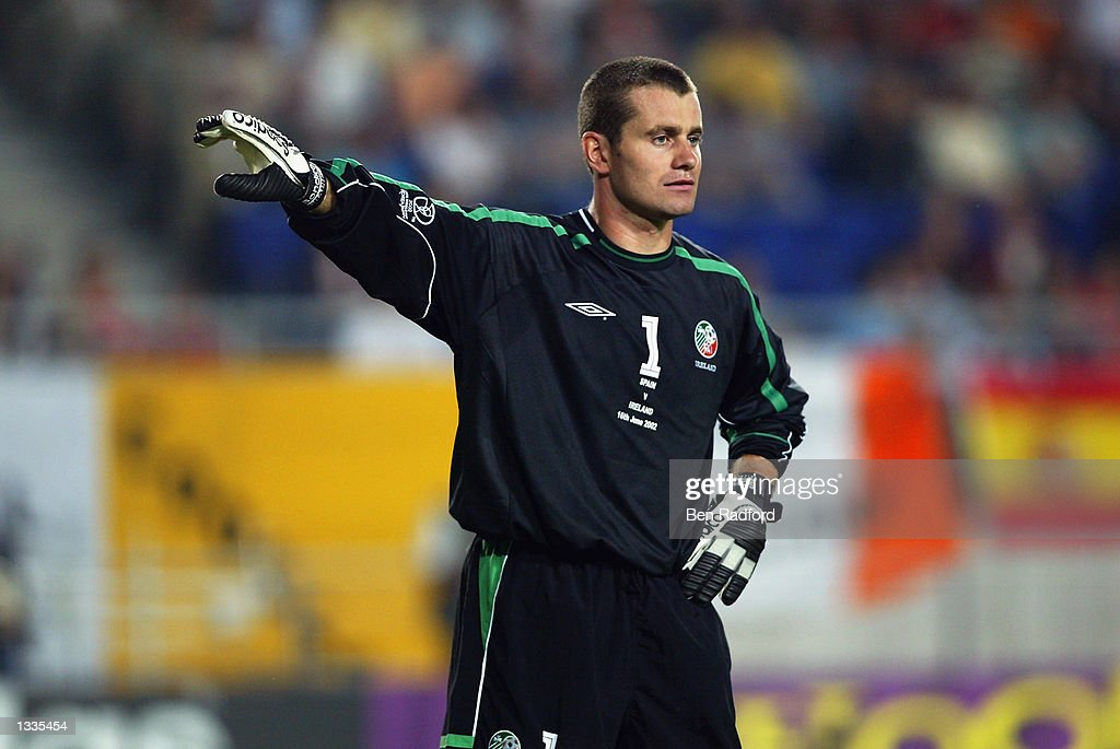 Shay Given of the Republic of Ireland : News Photo
