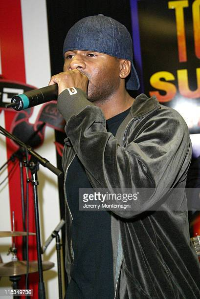 Shay Haley of N*E*R*D during Live in Store Performance by N*E*R*D March 25 2004 at Tower Sunset in Hollywood California United States