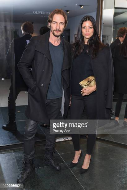 Shay Londre attends Oliver Peoples x Tasya van Ree Celebrates Who is Oliver Exhibition at LECLAIREUR on February 13 2019 in Los Angeles California