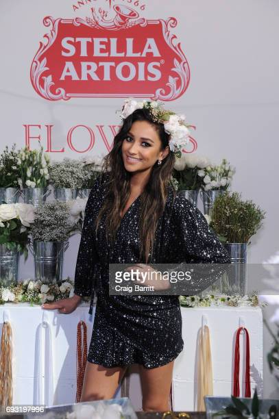 Shay Mitchell and Stella Artois 'Host One to Remember' this summer at the Stella Artois Braderie in New York City on June 6 2017