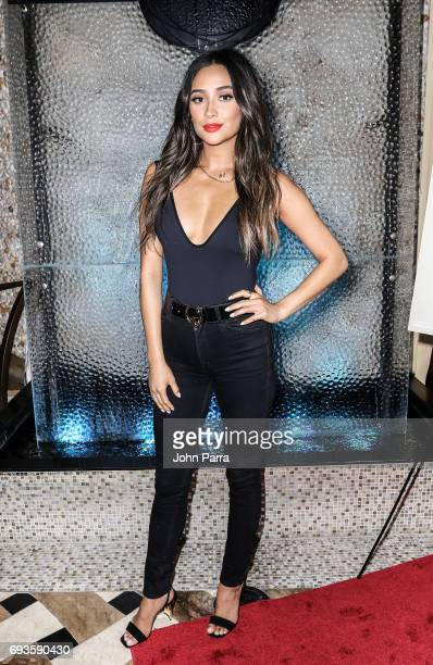 Shay Mitchell arrives as Ocean Drive Magazine Celebrates It's May/June Issue With Cover Star Shay Mitchell at Kuro at Seminole Hard Rock Hotel Casino...