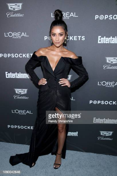 Shay Mitchell attends Entertainment Weekly Celebrates Screen Actors Guild Award Nominees sponsored by L'Oreal Paris, Cadillac, And PopSockets at...