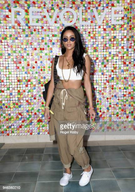 Shay Mitchell attends #REVOLVEfestival Day 1 on April 14 2018 in La Quinta California