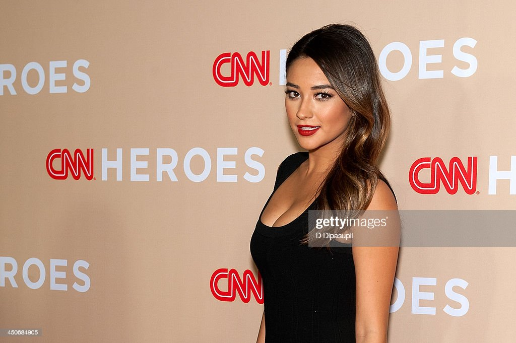 Shay Mitchell attends the 2013 CNN Heroes at the American Museum of Natural History on November 19, 2013 in New York City.
