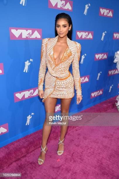 Shay Mitchell attends the 2018 MTV Video Music Awards at Radio City Music Hall on August 20 2018 in New York City
