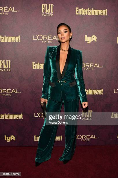 Shay Mitchell attends the 2018 PreEmmy Party hosted by Entertainment Weekly and L'Oreal Paris at Sunset Tower Hotel on September 15 2018 in West...