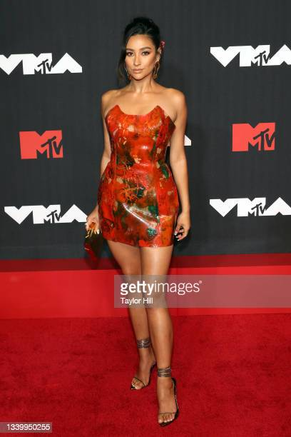 Shay Mitchell attends the 2021 MTV Video Music Awards at Barclays Center on September 12, 2021 in the Brooklyn borough of New York City.