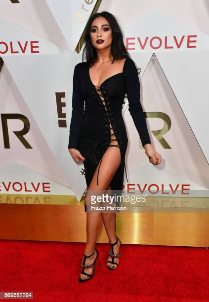 Shay Mitchell attends the #REVOLVEawards at DREAM Hollywood on November 2 2017 in Hollywood California