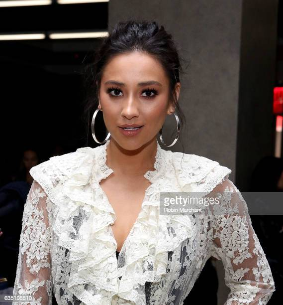 Shay Mitchell attends Zimmermann during New York Fashion Week on February 13 2017 in New York City