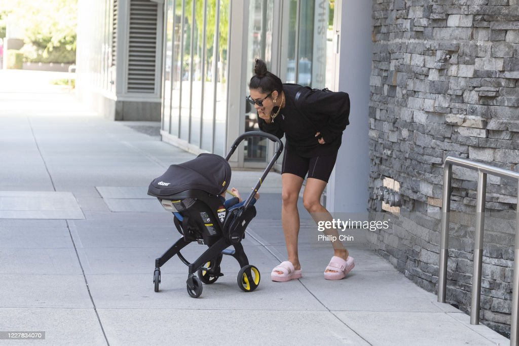 Celebrity Sightings in Vancouver : News Photo