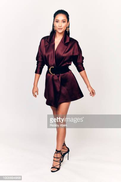 Shay Mitchell of Lifetime's 'You' poses for a portrait during the 2018 Summer Television Critics Association Press Tour at The Beverly Hilton Hotel...