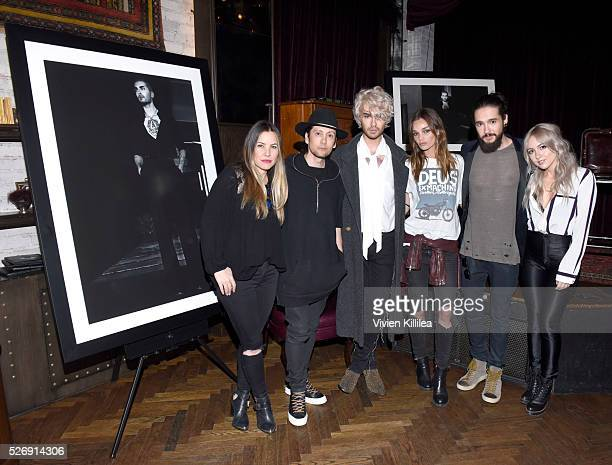 Shay Todd Shiro Gutzie BILLY Allie Crandell Tom Kaulitz and INGLSH attend BILLY Love Don't Break Me Art Exhibit book launch and shortfilm screening...