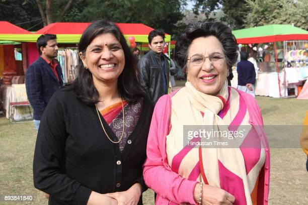 Shayama Chona during the Winter Carnival 2017 organised by NGO Tamanna at the Residence of British High Commissioner on December 15 2017 in New Delhi...