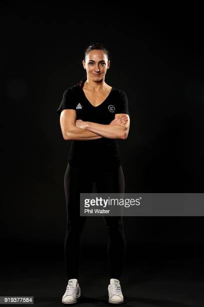 Shaye Boddington poses during the NZOC Headshots Session on October 3 2017 in Auckland New Zealand