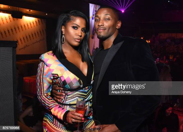Shayla Mitchell and Les attend Maybelline New York Celebrates First Ever Cobranded Product Collection With Beauty Influencer Shayla Mitchell at 1OAK...