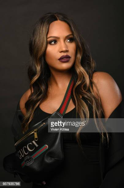 Shayla Mitchell attends ipsy Gen Beauty at the Los Angeles Convention Center on March 25 2018 in Los Angeles California
