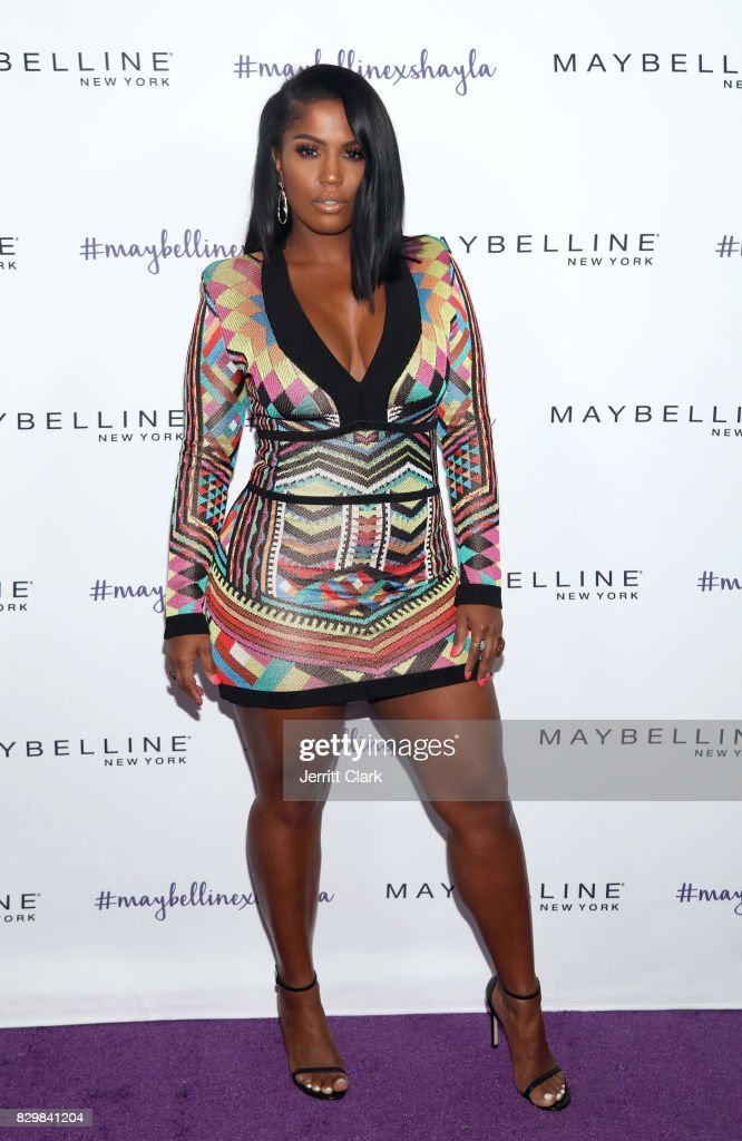 Shayla Mitchell attends Maybelline's Los Angeles Influencer Launch Event at 1OAK on August 10, 2017 in West Hollywood, California.