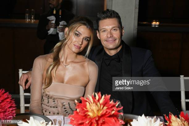 Shayna Taylor and Ryan Seacrest attend the New York City Ballet 2019 Fall Fashion Gala at David H. Koch Theatre at Lincoln Center on September 26,...