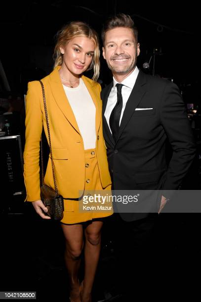 Shayna Taylor and Ryan Seacrest attend the Samsung Charity Gala 2018 at The Manhattan Center on September 27 2018 in New York City