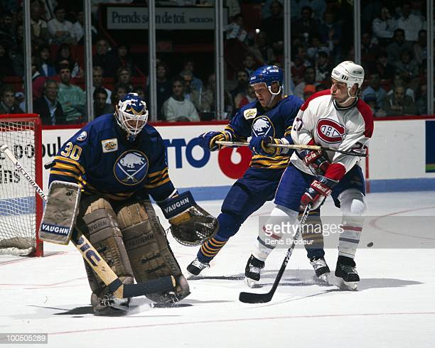 Shayne Corson of the Montreal Canadiens skates in the late 1980's at the Montreal Forum in Montreal Quebec Canada