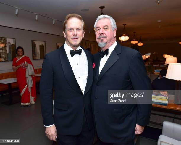 Shayne Doty and Jack Shear attend The Aga Khan Foundation Gala at The Metropolitan Museum of Art on November 15 2017 in New York City