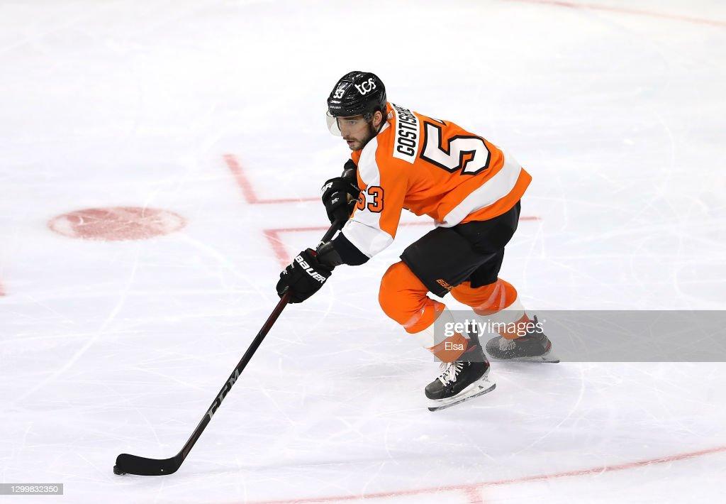 New York Islanders v Philadelphia Flyers : News Photo
