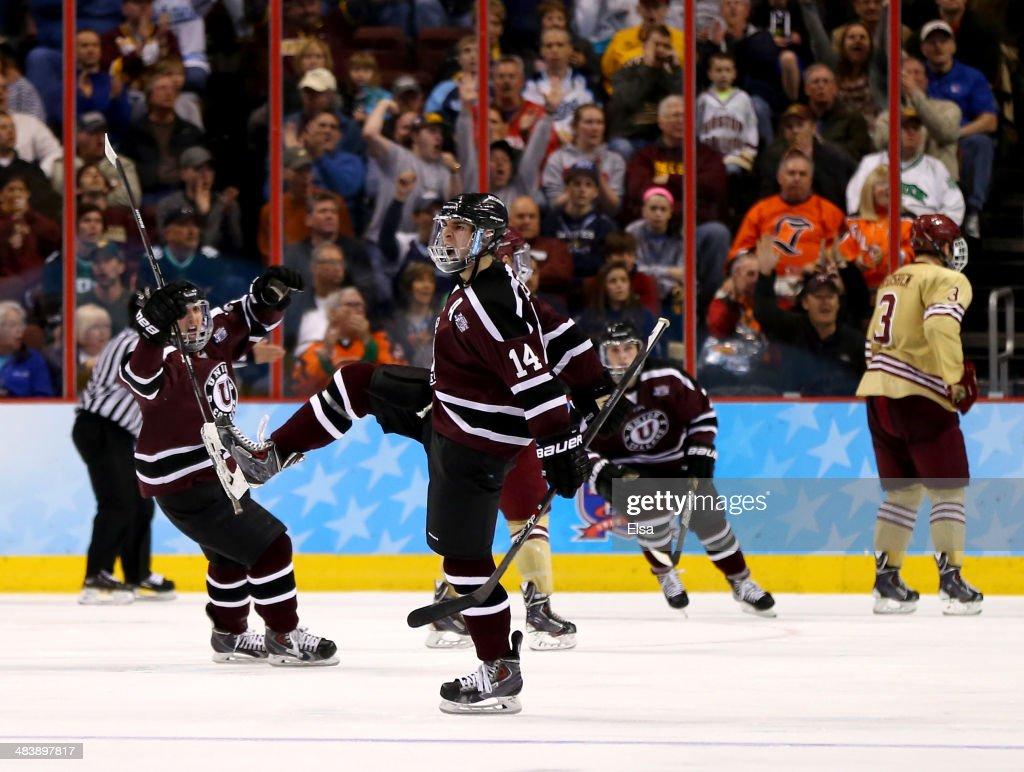 2014 NCAA Division I Men's Hockey Championships - Semifinals : ニュース写真