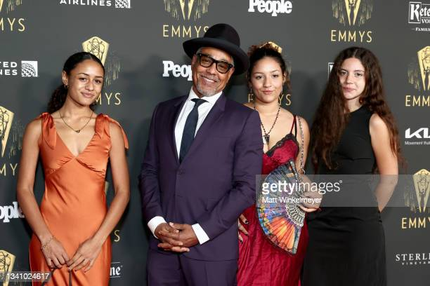 Shayne Lyra Esposito, Giancarlo Esposito, Ruby Esposito, and Kale Lyn Esposito attend the Television Academy's Reception to Honor 73rd Emmy Award...